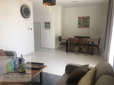 3 Bedroom Townhouse for Rent in Akoya Oxygen, Dubai - BEAUTIFUL MIDDLE UNIT 3BED+M FULLY FURNISHED
