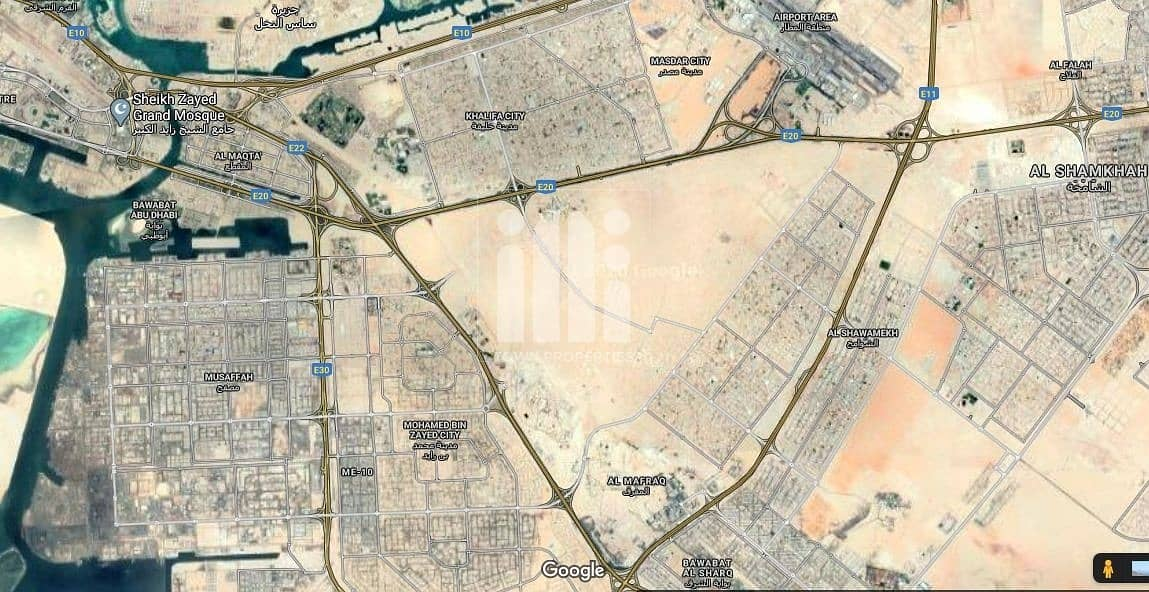 20 Residential Plot In Zayed City Capital District