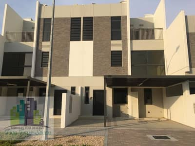 5 Bedroom Townhouse for Rent in Akoya Oxygen, Dubai - AMAZING 5BED+M DESERT VIEW SINGLE ROW IN AKOYA
