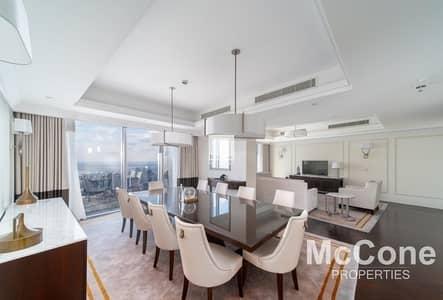 4 Bedroom Penthouse for Rent in Downtown Dubai, Dubai - Burj Khalifa & Fountain Views | Stunning Penthouse