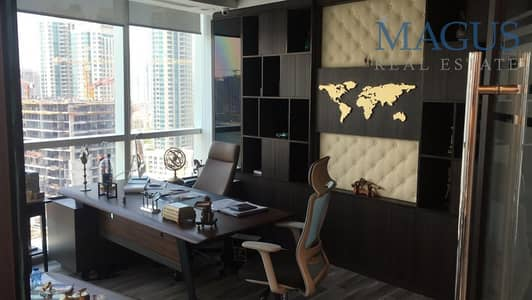 Office for Sale in Business Bay, Dubai - Fully Fitted with partitions office