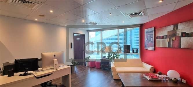 مکتب  للبيع في واحة دبي للسيليكون، دبي - Best Deal | Tenanted | Corner Unit | Nicely Fitted