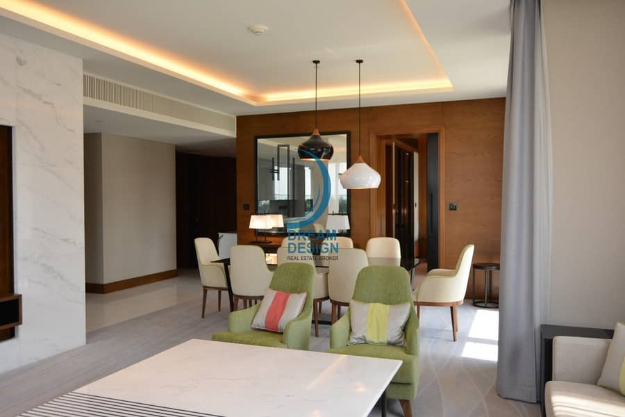 2 Fully Furnished | Luxury Living | Chiller & DEWA Included | Modern furnishing |