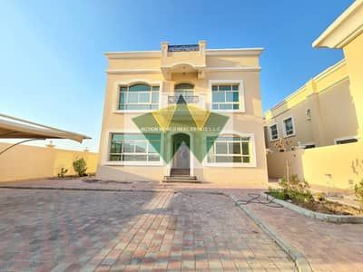 4 Bedroom Villa for Rent in Mohammed Bin Zayed City, Abu Dhabi - Stand Alone villa with Driver  Room with Big  Yard Rent in  MBZ City