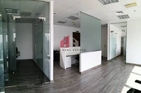 Office for Rent in Business Bay, Dubai - Furnish Office / Canal View / 3 Partitions