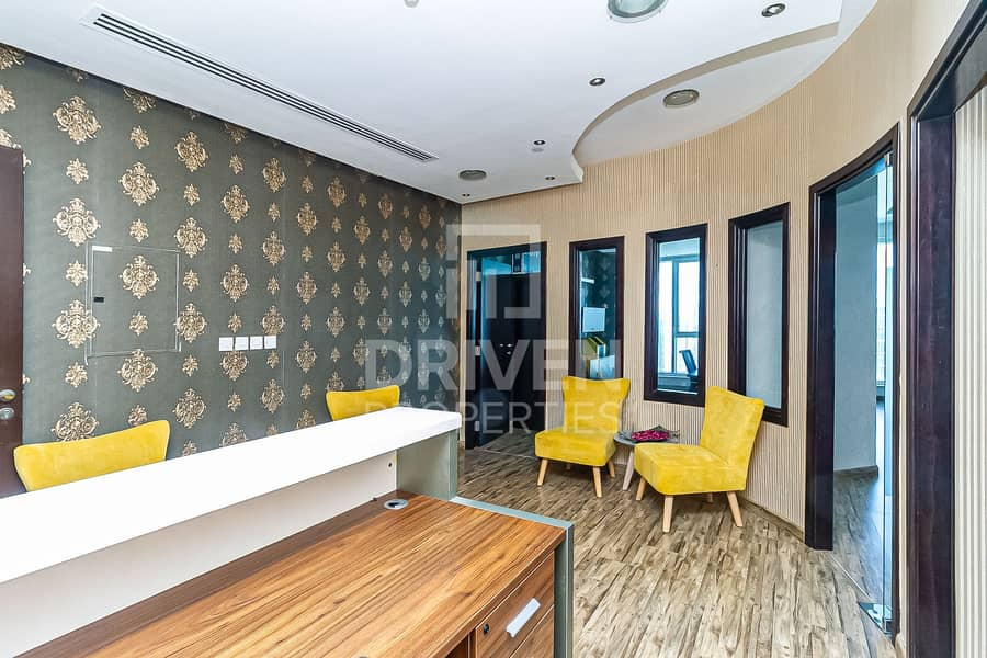 Fully Furnished Office and Prime Location