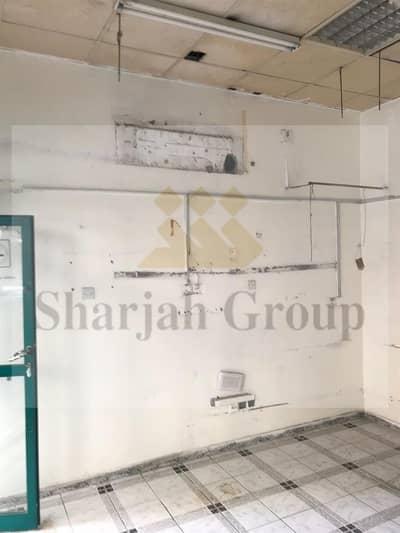 محل تجاري  للايجار في المحطة، الشارقة - Spacious Shop in Al Qasimiyah @ 30k No Commission