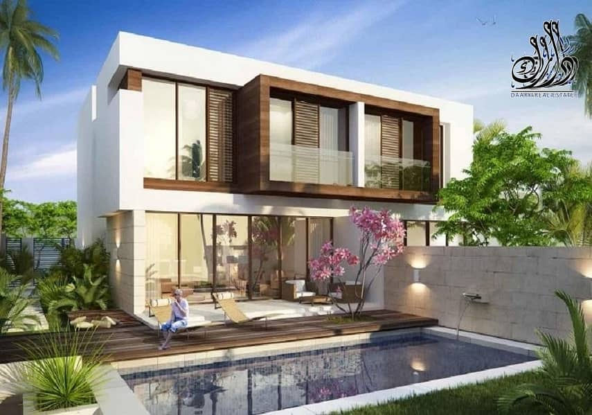 2 luxury 6 bed room villa at  best high living community with 22% discount