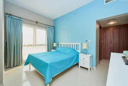 2 Bedroom Apartment for Sale in Al Hamra Village, Ras Al Khaimah - Spacious Two Bedroom - High Floor - Golf & Lagoon View