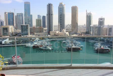 3 Bedroom Flat for Sale in Dubai Marina, Dubai - Huge 3BR+Maid | Full Marina View | Mid Floor