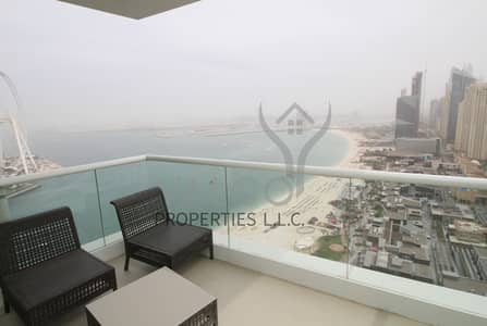 2 Bedroom Flat for Rent in Jumeirah Beach Residence (JBR), Dubai - Fully Furnished & Upgraded + 1 Month Free Rent