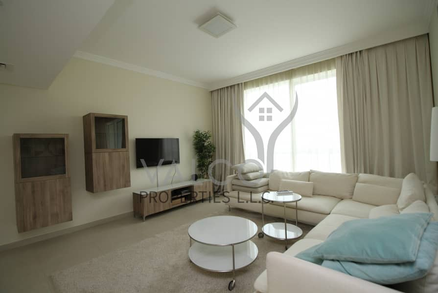 2 Fully Furnished & Upgraded + 1 Month Free Rent