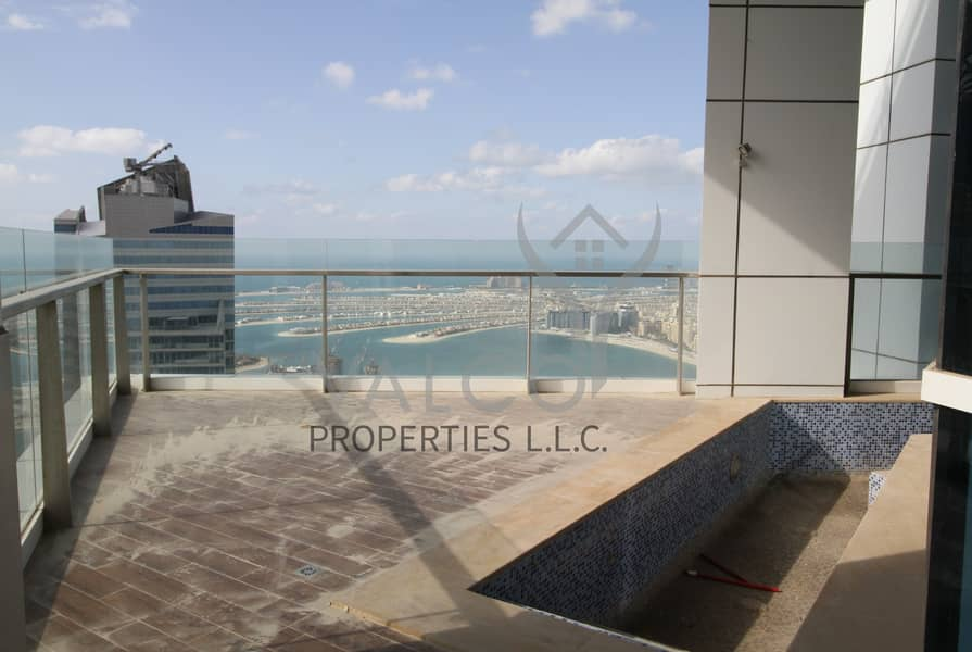 21 Palm Sea View | 4BR+M Penthouse | Huge Terrace
