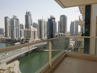 شقة 1 غرفة نوم للايجار في دبي مارينا، دبي - Ready to Move Bright 1BR with Marina View