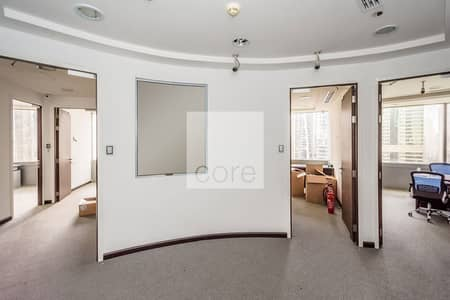 Office for Rent in Jumeirah Lake Towers (JLT), Dubai - Fitted Office | Prime Location | Parking