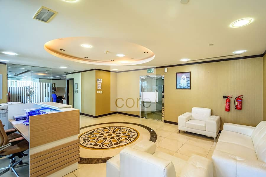 Fully fitted and furnished office in X2 |DMCC
