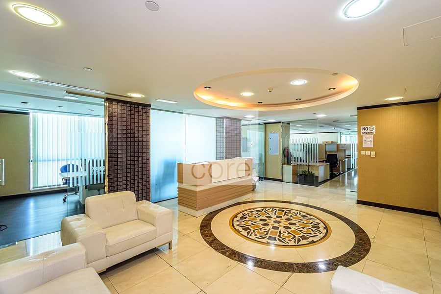 2 Fully fitted and furnished office in X2 |DMCC