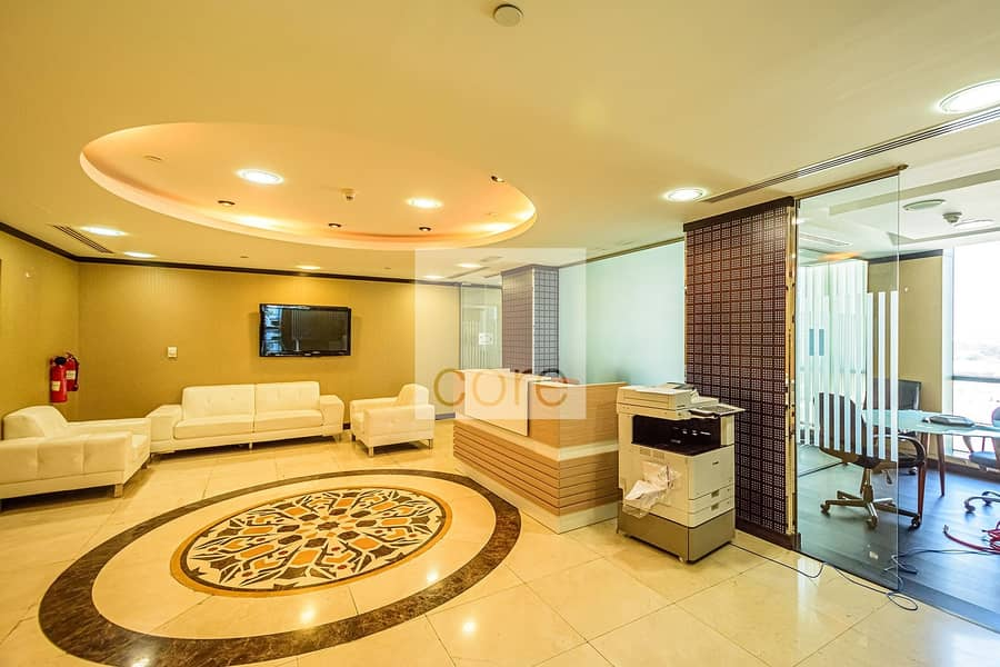 20 Fully fitted and furnished office in X2 |DMCC