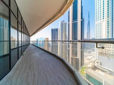 4 Bedroom Penthouse for Rent in Downtown Dubai, Dubai - 4 Bedrooms plus Maids Rm | Penthouse | High Floor