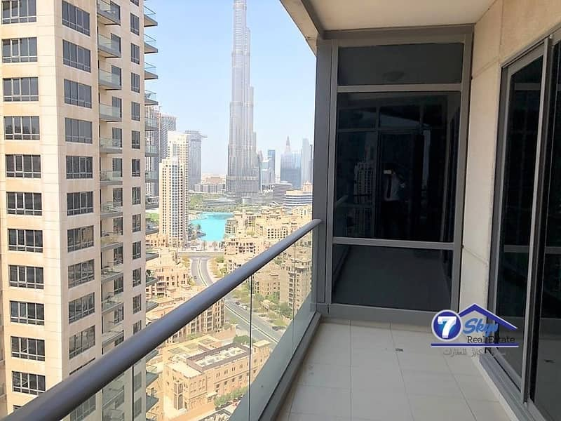 Large 1 BHK with Burj Khalifa view | Vacant |