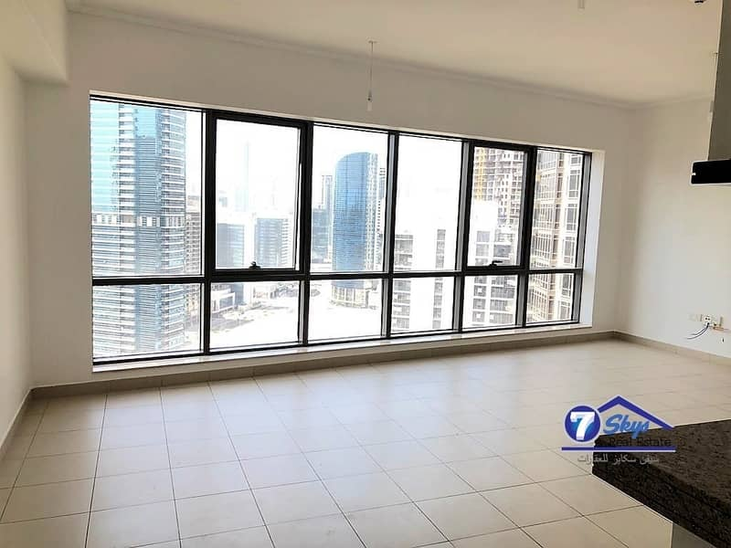 2 Large 1 BHK with Burj Khalifa view | Vacant |