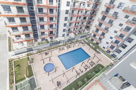 2 Bedroom Flat for Rent in Al Furjan, Dubai - Pool View | A/C Free | Carrefour 3 Mins Away