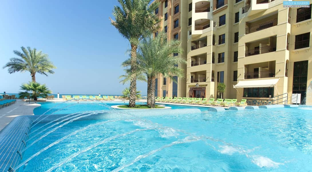 25 Furnished - Sea view with Hotel Facilities - Al Marjan Island