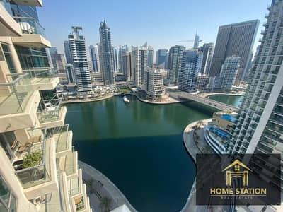 1 Bedroom Apartment for Rent in Dubai Marina, Dubai - Chiller Free | Full Marina View | High Floor