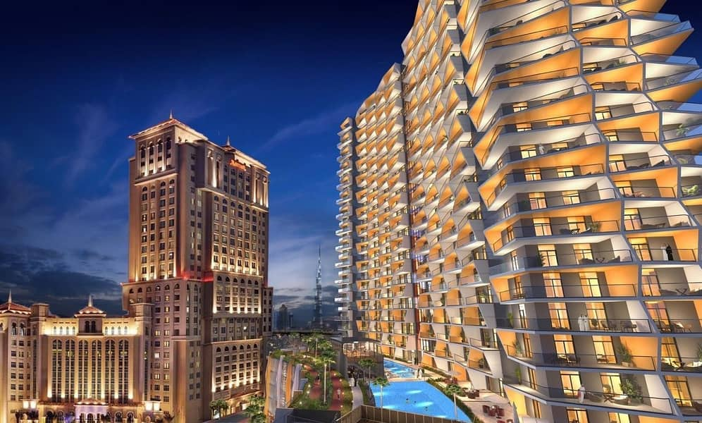 Buy One- Bedrooms Apartment and Get 50% discount to Second One/ Spectacular View in Binghatti Avenue at Al Jaddaf