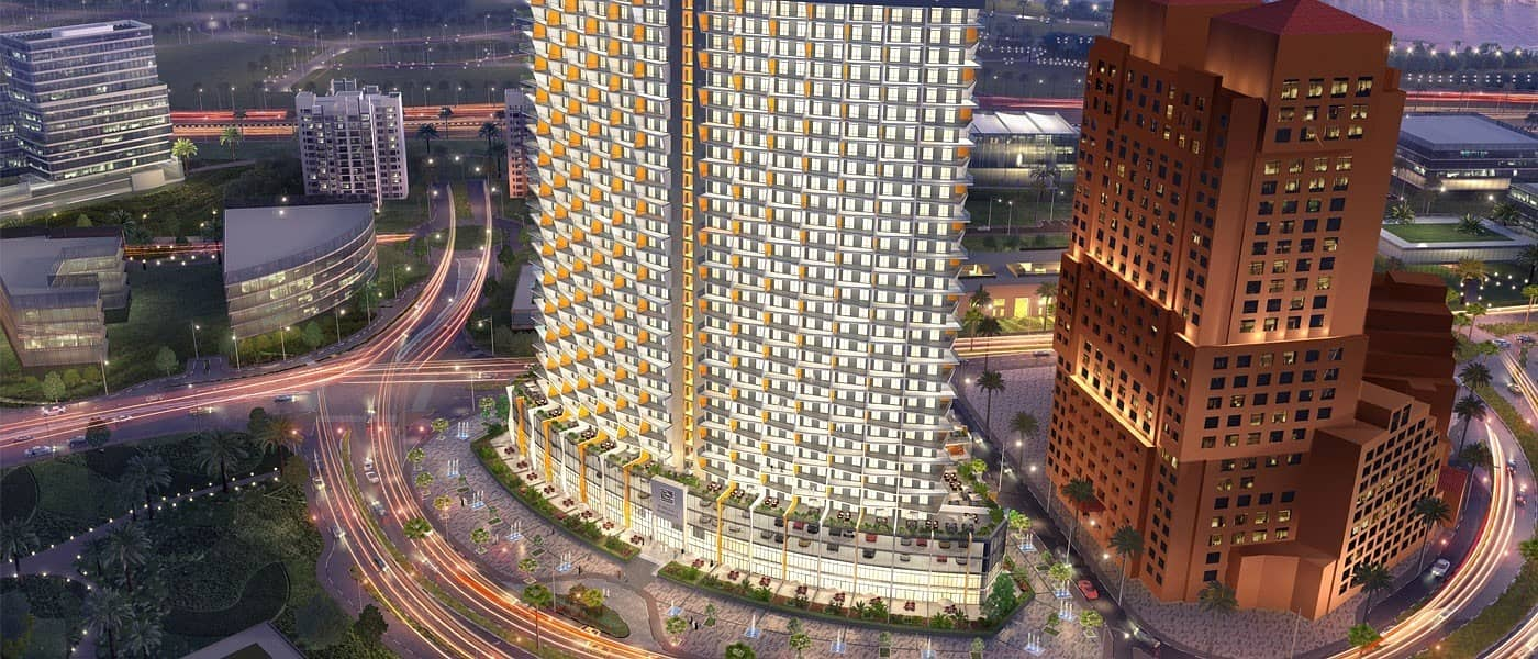 11 Buy One- Bedrooms Apartment and Get 50% discount to Second One/ Spectacular View in Binghatti Avenue at Al Jaddaf