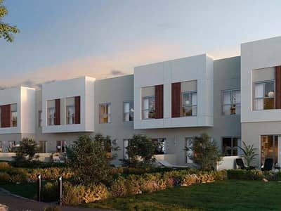 Townhouse in 4-Bedrooms and Maids Rooms with Easy Payment Plan at La Rosa-Villanova Dubailand