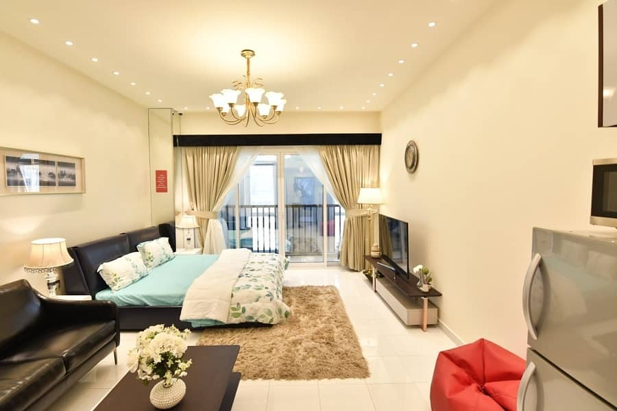 2 Very Affordable 1 Bedroom Furnished Apartment in Olivz- Near in International City by Danube Properties