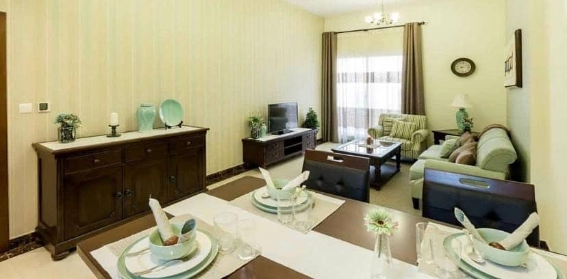 21 Ready- Furnished Apartment / One Bedroom / Easy Payment Plan / Jumeirah Village Circle(JVC)