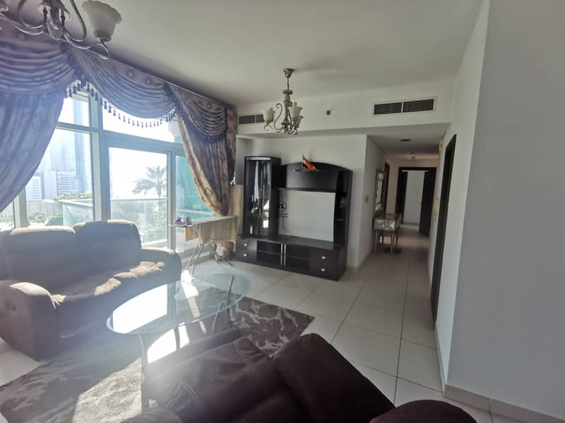 2 Amazing Fully Furnished | Pool View  | Ready To Move in