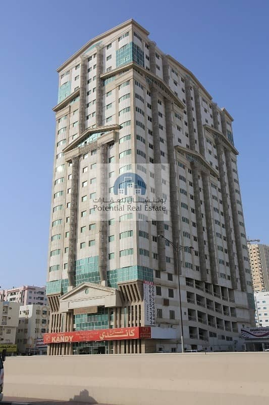 1BHK @ Al Jazeera Tower Near Mega Mall only 18