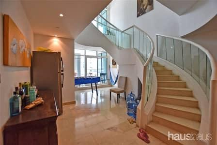 شقة 3 غرف نوم للايجار في دبي مارينا، دبي - Duplex   3 Bedroom   3348 sqft   Available Nov 1st