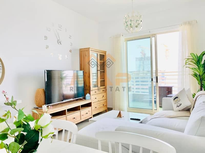Distress Sale!! Fully Furnished 2bhk with balcony on high floor