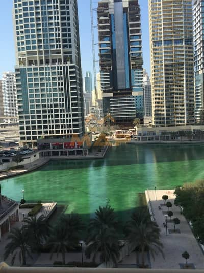 1 Bedroom Apartment for Sale in Jumeirah Lake Towers (JLT), Dubai -  full lake view close to metro