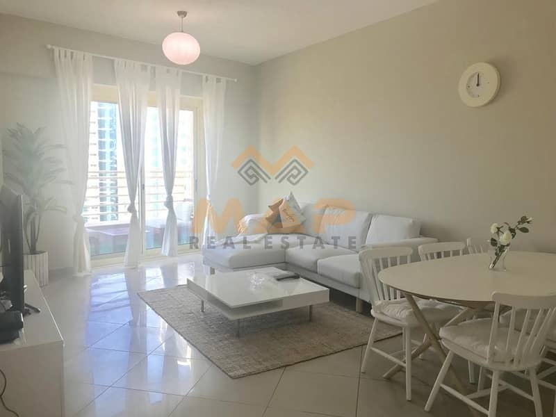 2 Fully Furnished 2bhk on high floor with balcony close to metro