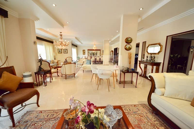 10 Hattan E1 | Fully Upgraded | 5BR + Maid | Lake View