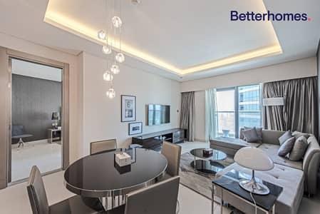 فلیٹ 1 غرفة نوم للايجار في الخليج التجاري، دبي - Furnished | Higher Floor | Community View