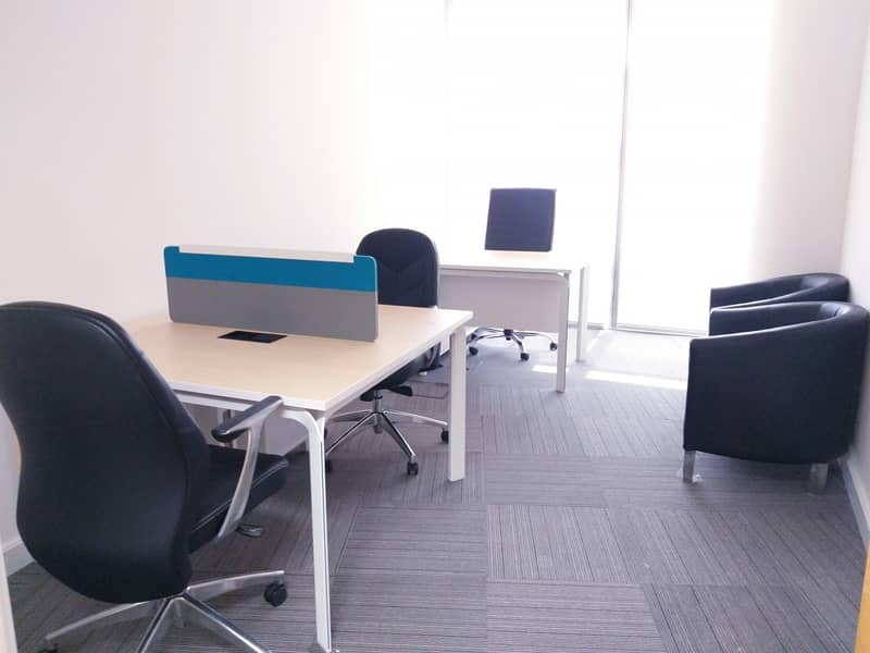 FURNISHED & SERVICED OFFICE