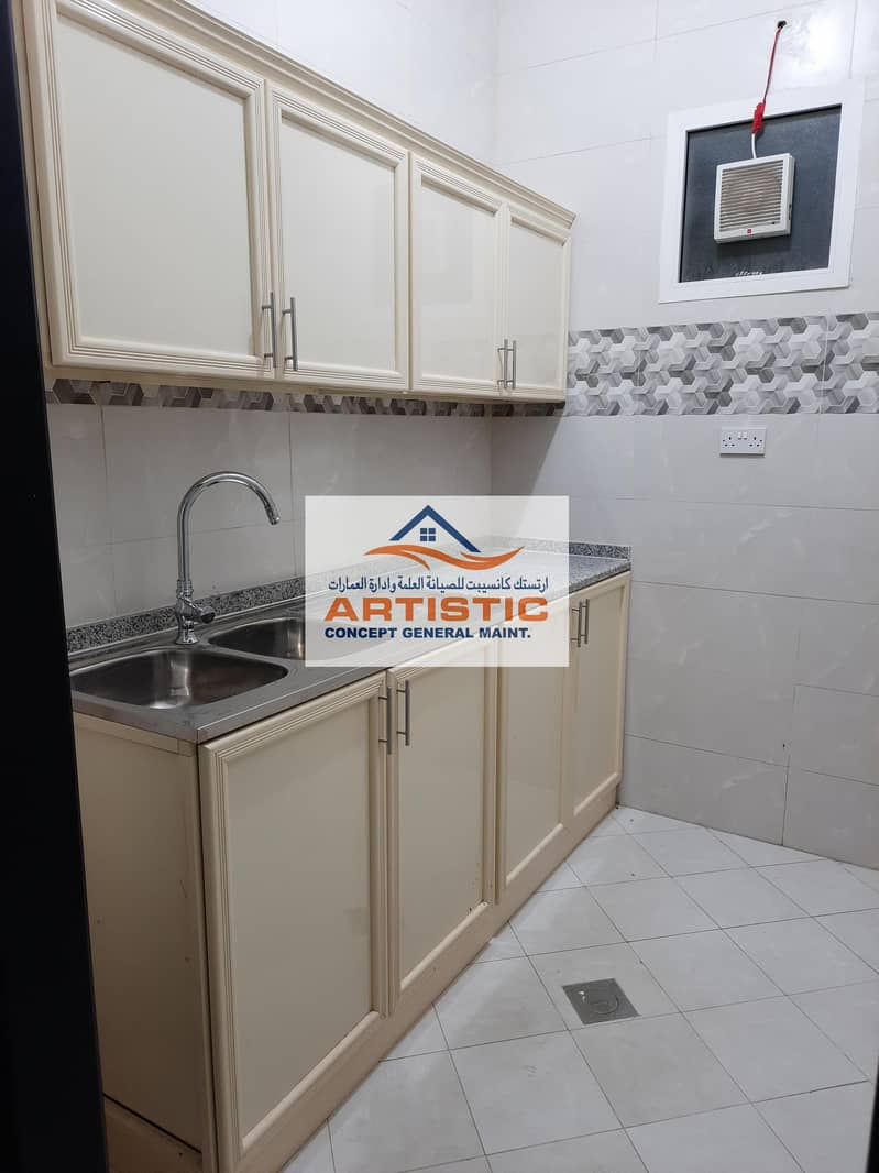 9 Private entranve  1 bedroom  hall for rent in shahama