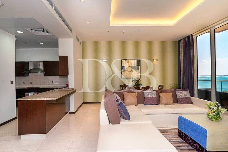 2 Sea View | Fully Furnished | Beach access