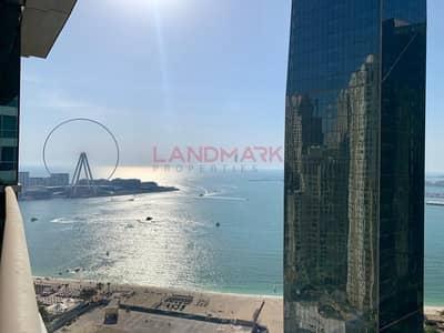 فلیٹ 3 غرف نوم للايجار في جميرا بيتش ريزيدنس، دبي - 3 BR In Al Fattan Marine Towers JBR