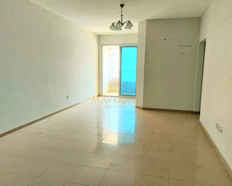 Spacious 1BHK+Balcony+Wardrobes | 6 Cheques