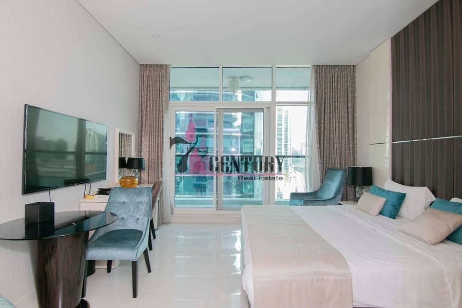 Full Canal View | Furnished | Studio Apartment