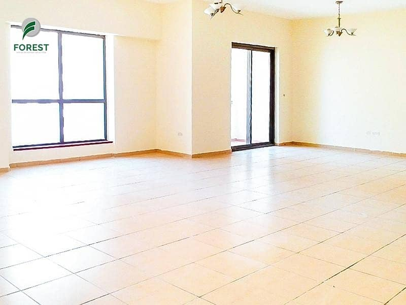 Spacious | Vacant | 4BR | Sea View | Unfurnished