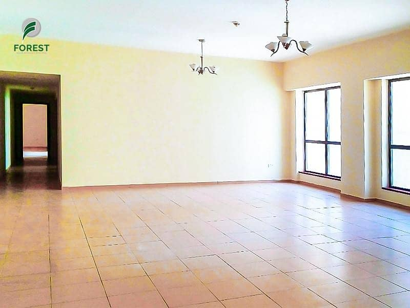 2 Spacious | Vacant | 4BR | Sea View | Unfurnished