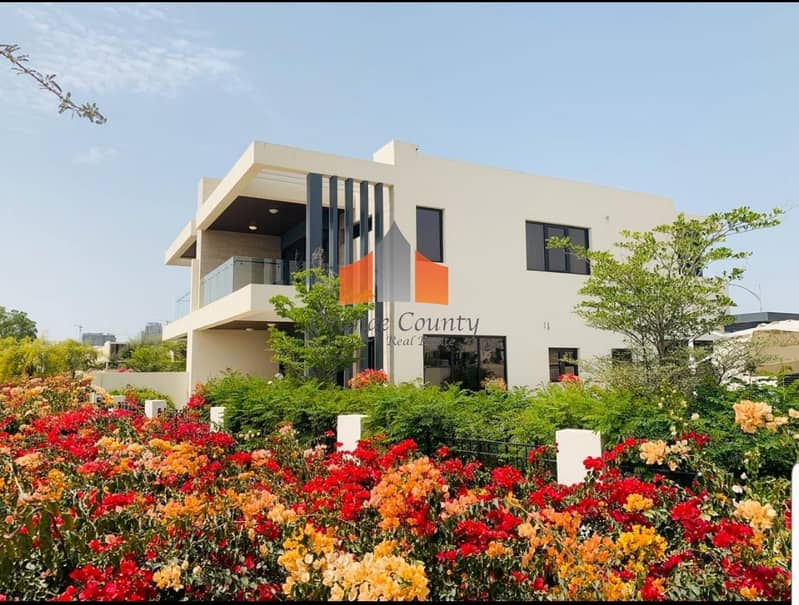 10 Villa in Damac Hills| Ready community.